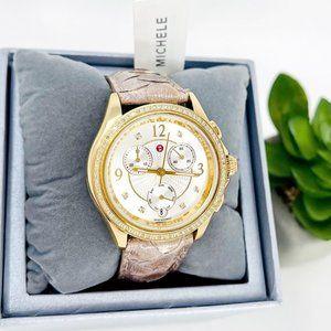 NWT MICHELE Belmore' Swiss Quartz Casual Watch